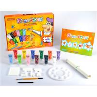 China 4 Colour Mickey Children Finger Painting set for sales wholesale