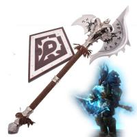"China 43"" world of warcraft metal crafts battle axe lich king shadowmourne on sale"