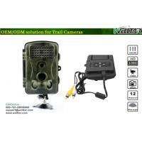 China Wild Night Vision Infrared Trail Camera with Multi-Language Selection wholesale