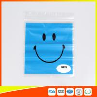 China Reclosable custom printed plastic bags Transparent  for Grocery wholesale