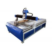 Fast Carving Speed 4 Axis CNC Router Machine 3.0kw Water Cooling Spindle Low Powper Consumption