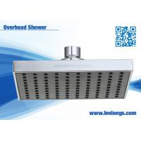 China High Efficiency Water Softener Square Shower Head , Overhead Rain Shower Head wholesale