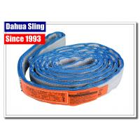 China Eye To Eye Flat Lifting Slings Class 5 Safety Factor OSHA And ASME Standards wholesale