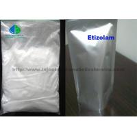 Buy cheap 99% Etizolam CAS 40054-69-1 Pharmaceutical Raw White Powder Materials For Local from wholesalers
