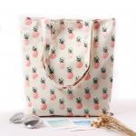 China Cartoon Fruit Printed Custom Canvas Bags , Printed Promotional Bags wholesale