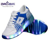 Quality 2017 New style led light up running shoes kids roller shoes for sale
