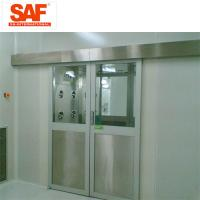 China Automatic Sliding Door Cleanroom Air Shower System Tunnel With Custom Width wholesale