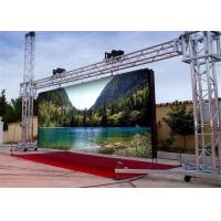 China 32*32 Super Slim SMD3535 Outdoor Led Display Screen With Pixel Pitch 6mm wholesale
