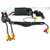 China 420 TVL 12V Wireless Rearview Camera System With 4.3 Inch Suction Cup Mount Monitor on sale