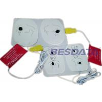 China Disposable AED Replacement Pads , AED Electrode Pads For Defibrillator Training wholesale