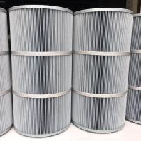 China Synthetic Fiber Industrial Air Filter Cartridges 0.1 micron Polyester Antistatic wholesale