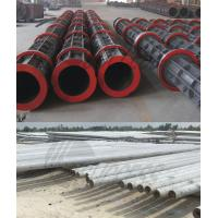 China Round Prestressed Concrete Poles Cement Electric Pole Making Machine wholesale
