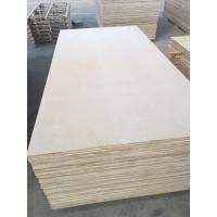 China 1220*2440mm Cabinet grade White Birch Plywood , Poplar/Eucalyptus Core wholesale