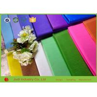 China Thanksgiving Holiday Bulk Colored Tissue Paper Solid Color For Gift Packing on sale