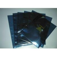 Buy cheap Moisture Proof ESD Shielding Bags , Vacuum Anti Static Pouch With Ziplock from wholesalers