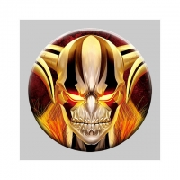 Buy cheap Custom 3d Pins 58mm Lenticular Anime Button 3d Badge from wholesalers