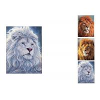 China PET / PP Wild Animal Lenticular Flip Effect / 3D Lenticular Printing Services wholesale