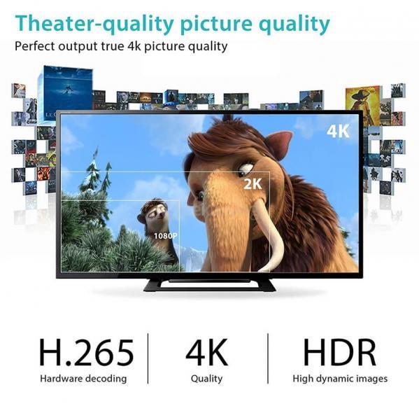 H96 PRO+ Amlogic S912 TV BOX KODI 4K 3G/32G 802.11AC WIFI 1000M LAN