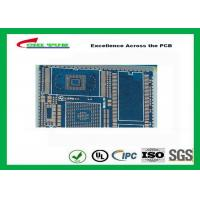 Buy cheap PCB Fabrication And Assembly Printed Circuit Board Assemblies 6 Layer Blue Solder Mask from wholesalers