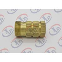 China ø10 Through Hole Roughness Metal Lathe Services 3.2 Knurled Brass Bushing wholesale