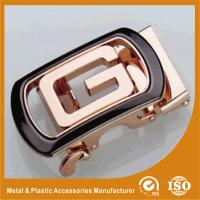 China Personalized Zinc Alloy Die Casting Automatic Belt Buckle for Leather Belt 35mm wholesale