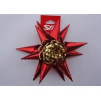 """China 4"""" PET fancy ribbon bow for Christmas Holiday decoration and promotion wholesale"""