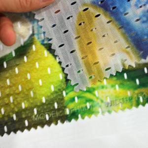 Quality Heavy Duty Custom Vinyl Banner PrintingDye Sublimation Fabric Series for sale