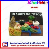 China Polyresin Fruit Fridge Magnet wholesale