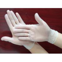 China Smooth Disposable Exam Gloves , Latex Powder Free Glove For Health Care / Beauty wholesale