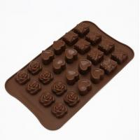 China Birthday Silicone Sweet Moulds , Funny Silicone Hard Candy Molds FDA Approved wholesale