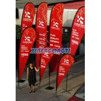China Teardrop Flag, Flying Banner For Advertising on sale