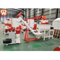 Buy cheap Portable Animal Feed Manufacturing Plant 500KG/H SKF Bearing Easy Operation from wholesalers