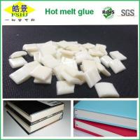 China EVA Milky White Bookbinding Hot Melt Glue High Stickiness For Note Bookbinding wholesale