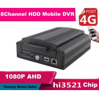 China 8CH FULL HD 1080P Hybrid DVR Car Mobile DVR 4G Real Time Recording wholesale