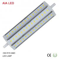 China Diammble driver 15W 5630 SMD R7S LED corn Lamp/ LED bulb for IP65 waterproof led flood light wholesale