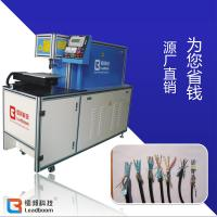 China Non Metal Materials Wire Insulation Stripping Machine With 1700 X 600 X 1320mm Dimension wholesale