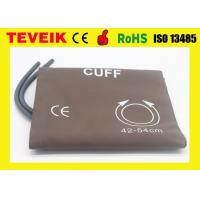 Buy cheap Reusable Large Adult NIBP Cuff  For Patient Monitor , Double Tube / 34-43cm from wholesalers