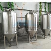 China 1000L Red Copper Shell Inner Stainless Steel Three Vessels Brewhouse with PU Instualtion on sale