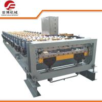 China 10-15 M/Min Trapezoidal Sheet Roll Forming Machine With Cutting Upside Down on sale