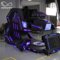 China Cockpit 360 Degree VR Motion Racing Simulator For Shopping Mall wholesale