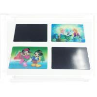 China Kids 3D Fridge Magnets PP / PET / PVC Lenticular Printing Recyclable wholesale