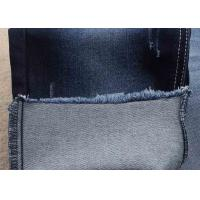 China unifi repreve denim fabric recycled material dark blue soft jeans fabric wholesale