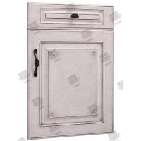 China Moistureproof White Wooden Moulded Doors With Lock , Handle And Hinges wholesale
