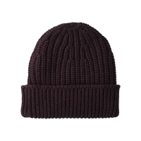 China Trendy Warm 56cm Knit Beanie Hats Plain Dyed Waterproof wholesale