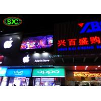 China Lightweight  Advertising Led Screens , Smd Led Panel Outdoor 10mm Pitch wholesale