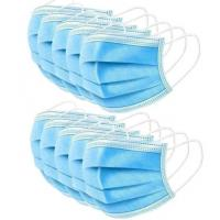 China Anti Virus 3 Ply Surgical Face Mask High Filtration Efficiency  Soft Lining wholesale