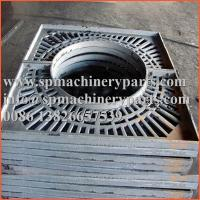 Buy cheap Custom designs landscaping durable standards high grade quality  gray cast iron tree grates and frames from wholesalers