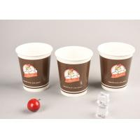 China Eco Friendly 16oz Cold Paper Cups Iced Recyclable Coffee Cups For Shop / Office wholesale