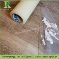 China Temporary Protection Colors and Adhesive Customizable Anti Dust PE Floor Protective Film on sale