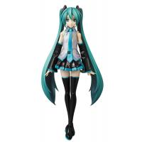 China 20cm Hand Painted PVC Anime Figures With Long Blue Hair For Children wholesale